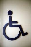 Symbole handicapé international Images libres de droits