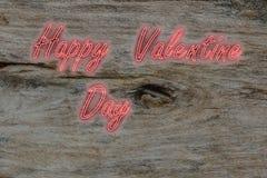 Symbole heureux de jour de valentines Photos stock