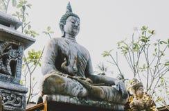 Symbole i bóstwa buddhism w azjacie obraz stock