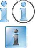 symbole informacyjne Zdjęcia Royalty Free