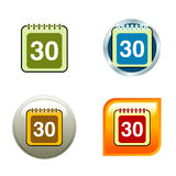 symbole kalendarzowe Zdjęcie Royalty Free