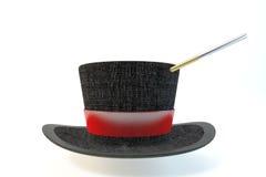 symbole kapeluszowej magię stylu ilustracyjny wektora Zdjęcie Royalty Free