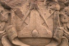 Symbole maçonnique Photos stock