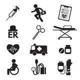 symbole medycznych Zdjęcie Stock