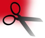 symbole mody nożyczki Fotografia Royalty Free