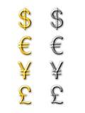 Symbole monétaire Photographie stock