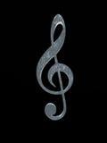 symbole musical Images libres de droits