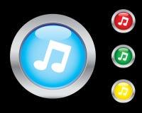 symbole muzyczne Obrazy Stock