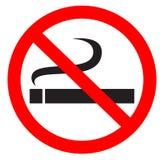 Symbole non-fumeurs Photo libre de droits