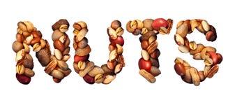 Symbole Nuts Photographie stock libre de droits