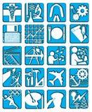 symbole odizolować zawodowych Zdjęcia Stock