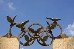 Symbole olympique images libres de droits