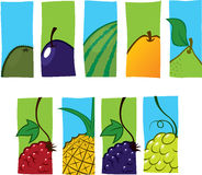 symbole owocowe royalty ilustracja