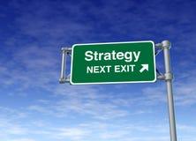 Symbole r d'affaires de plan de vente de planification de stratégie Images stock