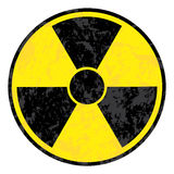 Symbole radioactif Image stock