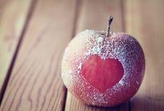 Symbole Romance de coeur de pple Images libres de droits