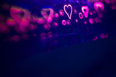 Symbole romantique de coeur d'amour Photos libres de droits