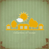 Symbole rural de patrimoine illustration stock