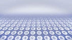 symbole s? sieci Internetowy komunikacyjny t?o Różnorodna kolekcja ikony dla biznesu CG p?tli animacja zdjęcie wideo