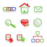 symbole sieci Obraz Stock