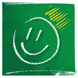 Symbole simple de sourire Images stock