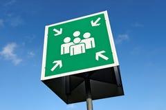 Symbole social de media Image libre de droits