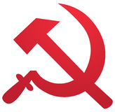 Symbole soviétique Photographie stock libre de droits