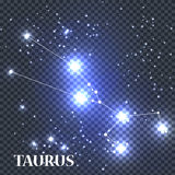 Symbole Taurus Zodiac Sign Illustration de vecteur Images libres de droits