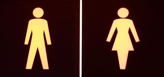 symbole toaletowe Obraz Stock