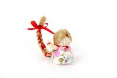 Symbole traditionnel russe de poupée de la bonne chance. Images libres de droits