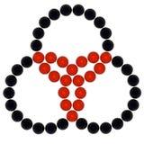 Symbole triple illustration libre de droits