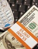 Symbole und Zeichen der Kommunikation und des Reichtums, Erfolg Lizenzfreies Stockfoto