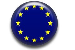 symbole unii europejskiej Obrazy Stock