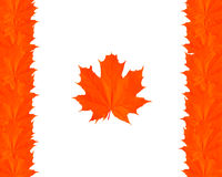 Symbole von Kanada Stock Abbildung