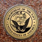 Symbole von USA-Militärarmee-Marine-Luftwaffen-Marinesoldaten Lizenzfreies Stockbild