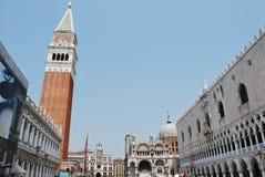 Symbole von Venedig Stockfotografie