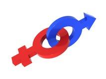 Symbole von Venus und von Mars #5 Lizenzfreies Stockfoto