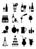 symbole wyznaczają wino royalty ilustracja