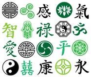 Symbolen Royalty-vrije Stock Afbeeldingen