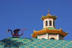 Symbolen van China Stock Foto