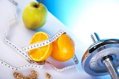 Symbolen van dieet Royalty-vrije Stock Afbeeldingen
