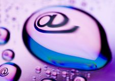 Symbolen van Internet Stock Fotografie