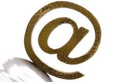 Symbolen van Internet royalty-vrije stock fotografie