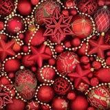 Symbolen van Kerstmis Stock Foto