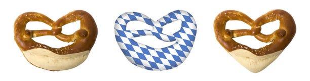 Symbolen voor Beierse Oktoberfest Royalty-vrije Stock Foto