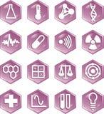symboler 1 Vektor Illustrationer