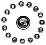 symboler Arkivbilder