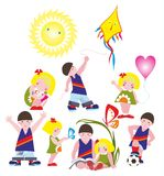 symboler Royaltyfri Bild
