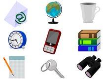 symboler vektor illustrationer