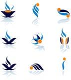 symboler Royaltyfri Fotografi